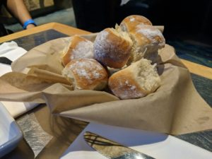 Bread from Coral Reef Restaurant