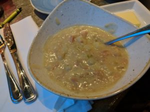 Chowder from Coral Reef Restaurant