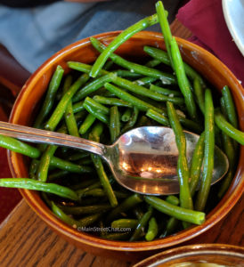 Liberty Tree Tavern Green beans