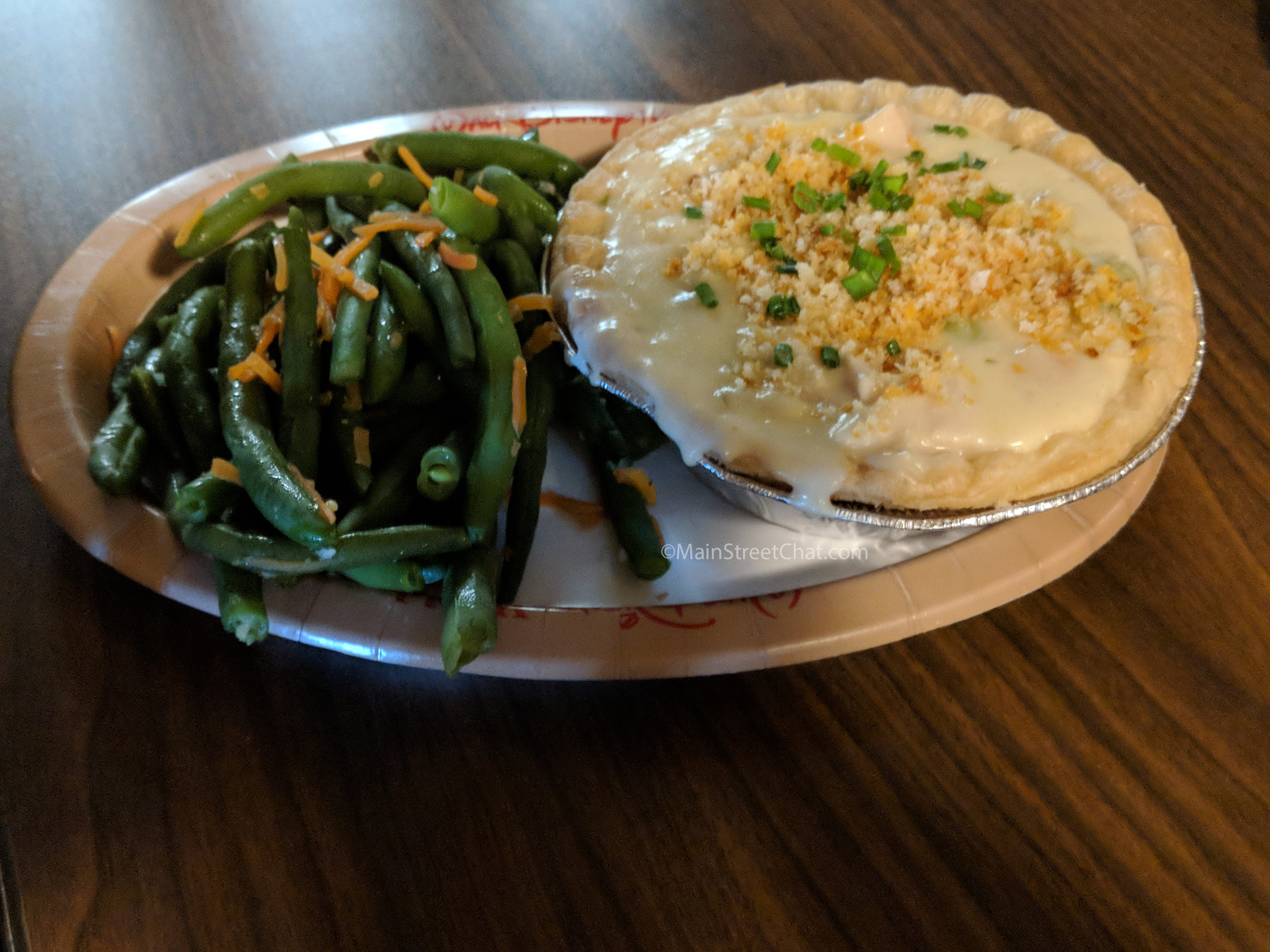 Columbia Harbor House Chicken Pot Pie
