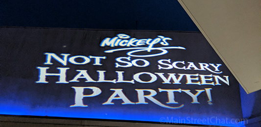 Micky's Not so Scary Halloween Party