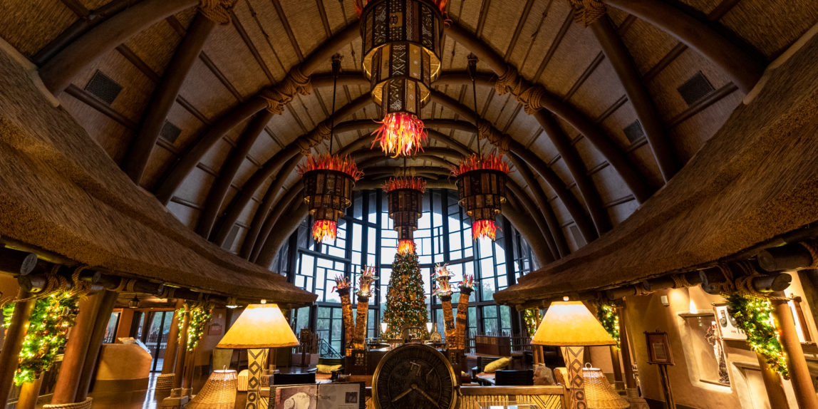 animal kingdom lodge Kidani village lobby
