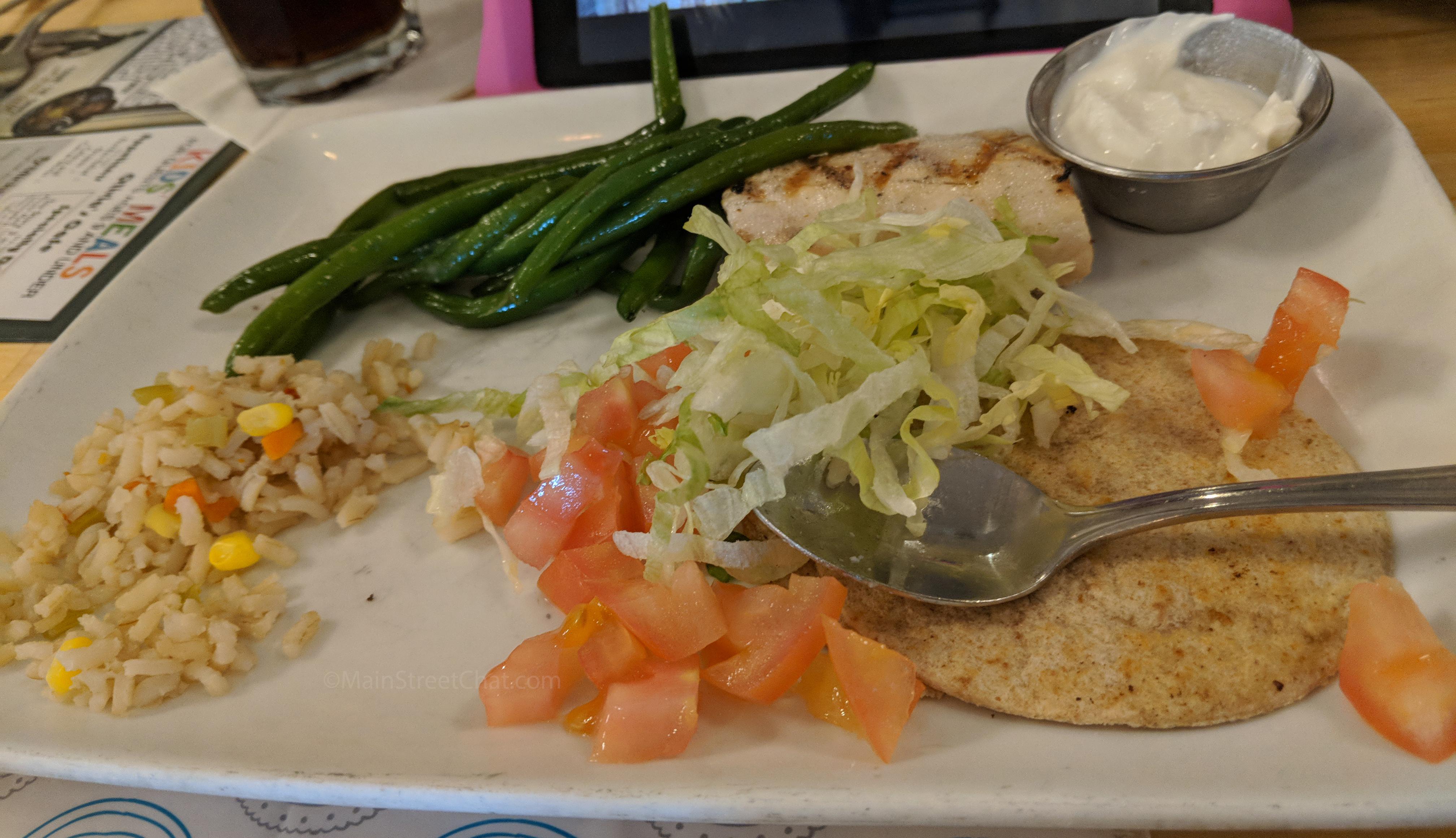 Olivia's Build-Your-Own Taco with Fish of the Day