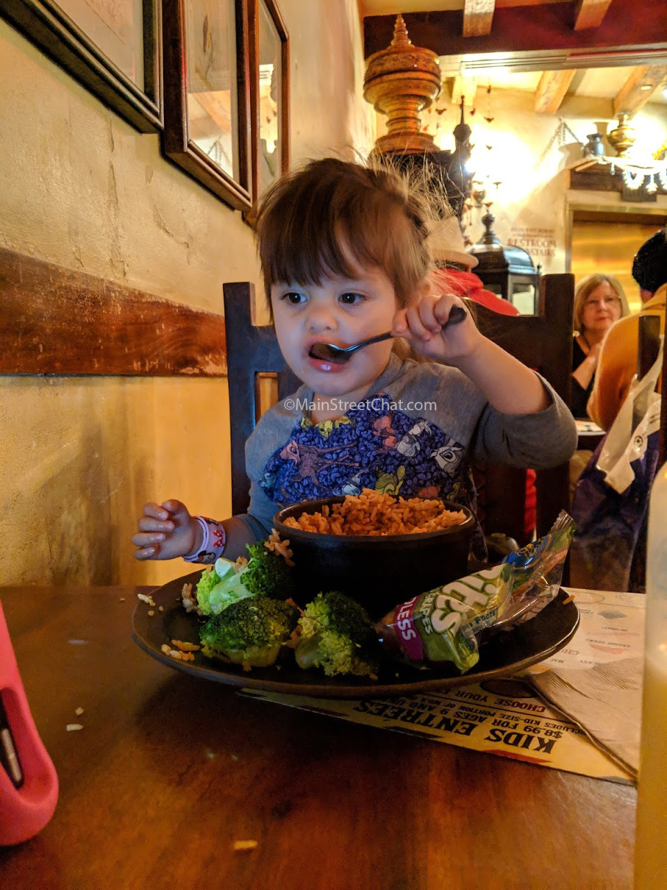 Yak & Yeti kids meal