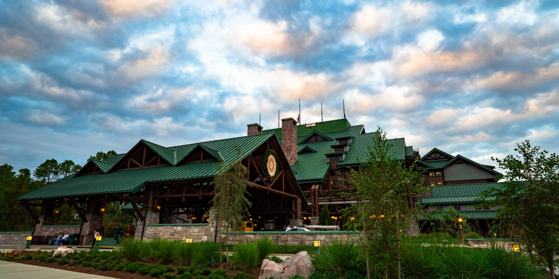 Wilderness Lodge Building